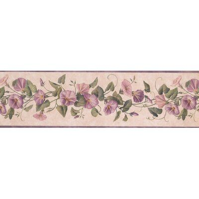Charlton Home High Meadow Flowers On Vine Retro Design 15 L X 7 W Floral And Botanical Wallpaper Border Wayfair In 2020 Botanical Wallpaper Floral Wallpaper Border Wallpaper Border
