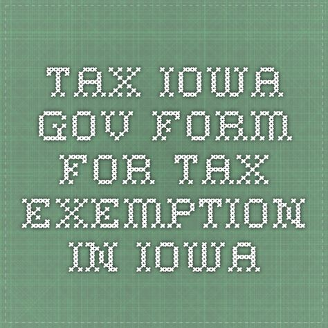 tax.iowa.gov - Form for Tax Exemption in Iowa | Selling Homemade ...