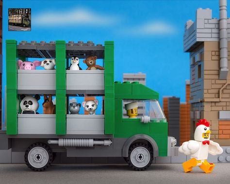 Jeff Friesen created LEGO recreations of Banksy's famous street art.