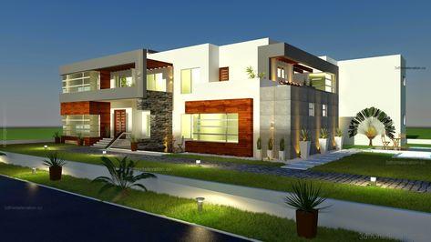 1000 Square Yards House Designing Layout Plan In Karachi