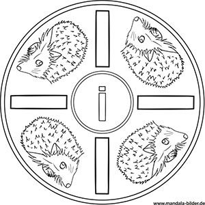 Buchstaben Mandalas Abc Ausmalbilder Zum Ausdrucken Ausmalbilder Zum Ausdrucken Buchstabe I Bilder Zum Ausdrucken