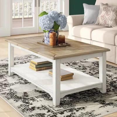 Sherwin Williams Tradewind Paint Color Seas Your Day Coffee Table Coffee Table Farmhouse Decorating Coffee Tables