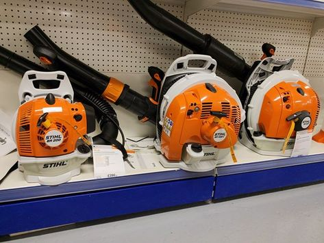 Its Almost Autumn Get Ahead Of The Leaves With Our Range Of Stihl Blowers Stihl Stihldealer Stihlblower Br200 Br4 Stihl Electric Leaf Blowers Leaf Blower