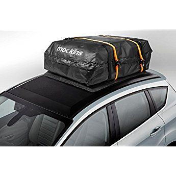 Mockins Waterproof Cargo Roof Bag Set With A Protective Car Roof Mat And 2 Extra Ratchet Straps The Roof Top Cargo Bag Is Car Roof Storage Cargo Carriers Car