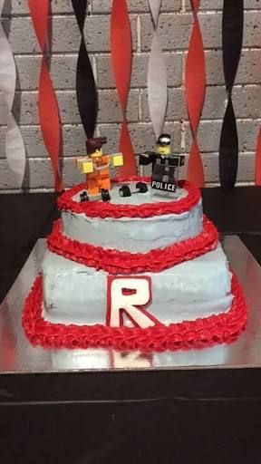 Image Result For Roblox Jailbreak Birthday Cake Roblox Birthday Cake Roblox Cake 10th Birthday Cakes For Boys