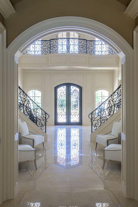 Astonishing Crema Marfil Tile Interior Designs With Cream Marble