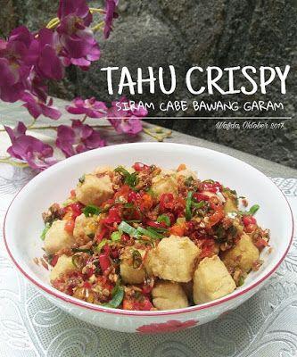 Resep Tahu Crispy Cabe Bawang Garam By Dapurwafda Resep Tahu Makan Malam Masakan