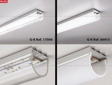 Klus Giza Anodized Extrusion Kl B5556anoda Installing Led Strip Lights Led Strip Lighting Installing Led Strips