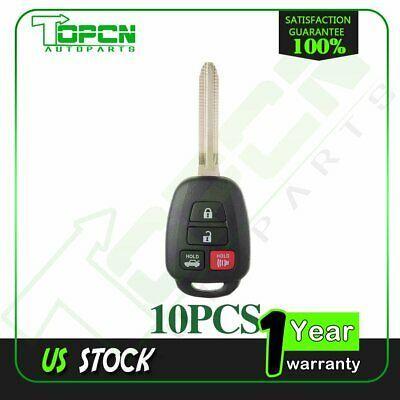 Advertisement Ebay 10x Uncut Keyless Entry Remote Head Key For 2015 Toyota Camry Fob 1551a 12bdm 3 In 2020 Keyless Entry Car 2015 Toyota Camry Toyota Camry