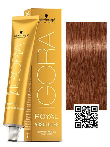 Schwarzkopf Professional Igora Royal Absolutes Hair Color 2 1 Oz 7 560 Medium Blonde Gold Chocolate Walmart Com Permanent Hair Color Schwarzkopf Hair Color Hair Color