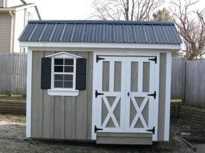 8x10 Shed Saltbox Shed Shown In With Metal Roof 8x10 Shed Floor Plans 10x10 Shed Plans Metal Shed Roof Shed Plans