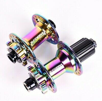 X-Cobra Bicycle hub rainbow 144 click hubs mountain bike hubs 4 NBK bearings