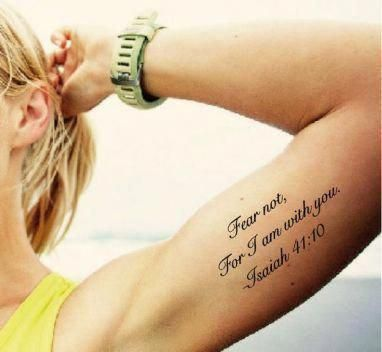 Word Tattoo Design Meaningfulwordstattoo Bible Verse Tattoos Verse Tattoos Inner Arm Tattoos
