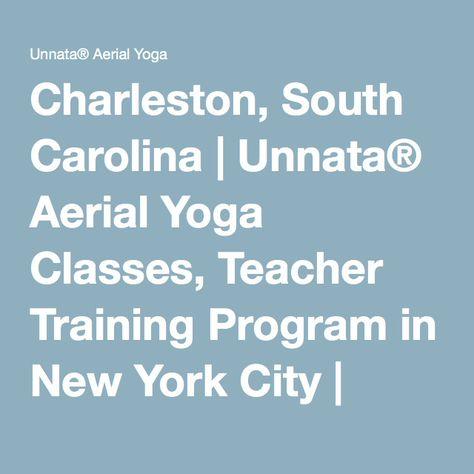 Charleston, South Carolina | Unnata® Aerial Yoga Classes, Teacher ...