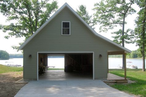 26 Amazing Pole Barn Homes Inspiration Polebarngarage The Majority Of The Time What Material The Trusses Will Be Backyard Garage Pole Barn Homes Garage Design