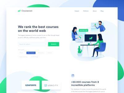 Digital Courses Landingpage Web Design Websites Web Design Awards Portfolio Web Design