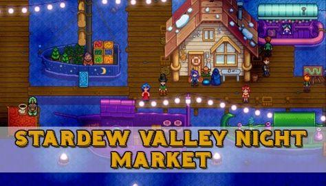 Stardew Valley Night Market