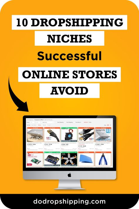 10 Dropshipping Niches to Avoid as a Beginner