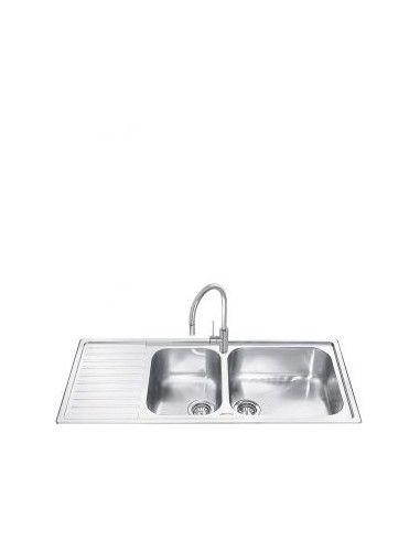 Double Bowl Drainer Kitchen Sink