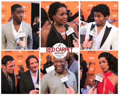 """Talking to the Cast and Creators of """"Snowfall"""" on FX Networks at Premiere Red Carpet #SnowfallFX #Video #Trailer #Interviews"""