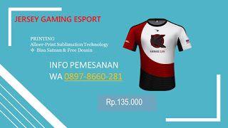 Download 0897 8660 281 Harga Buat Jersey Gaming Bandung Kaos Olahraga Mockup