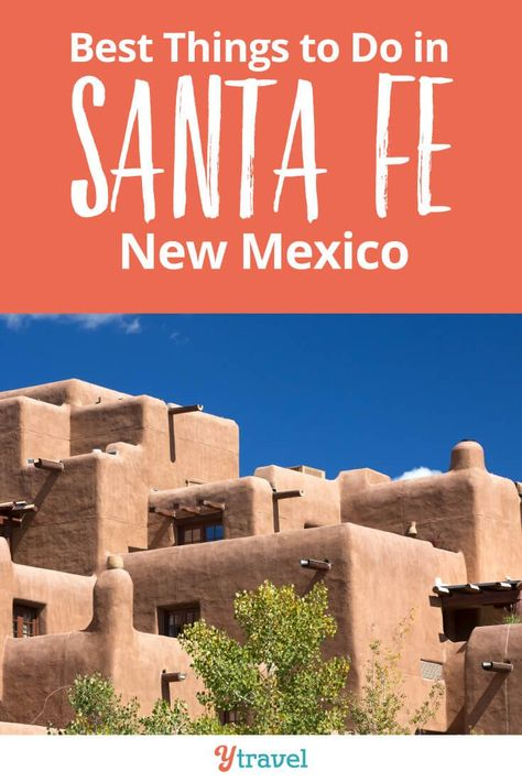Santa Fe, New Mexico Travel Guide - Best things to do in Santa Fe including tips on what to see and do, where to stay (hotels or rentals), best places to go Shopping for local items, getting there, beautiful places to visit, hiking ideas, activities with kids, and much more! #SantaFe #NewMexico #travel #traveltips