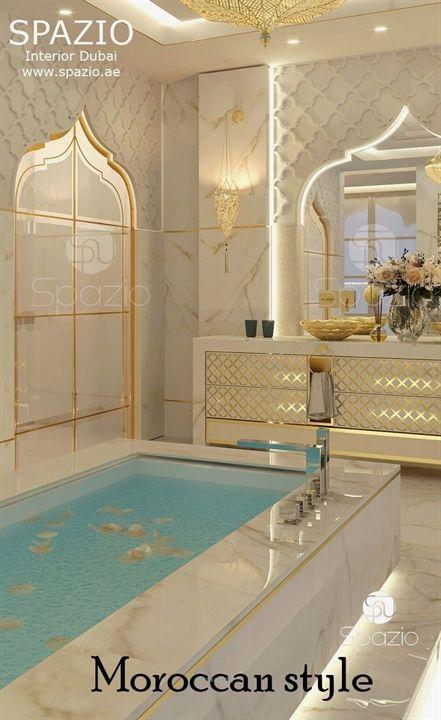 Superb تصاميم حمامات داخل غرف النوم 2018 The Post تصاميم حمامات داخل غرف النو Spa Interior Design Luxury House Interior Design Modern Master Bathroom Decor
