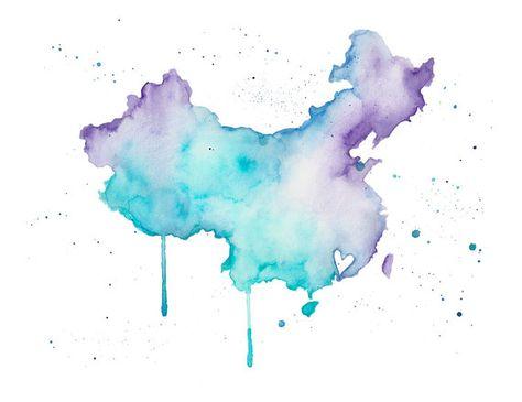 5x7 China Love by poppyandpinecone on Etsy