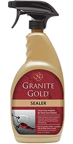 Amazonsmile Granite Sealer Protector Best Stone Polish Protectant Care Product Easy Maintenance For Cle Granite Sealer Best Granite Sealer Gold Spray