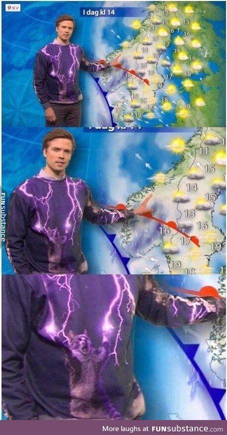 Scandinavian weather forecast