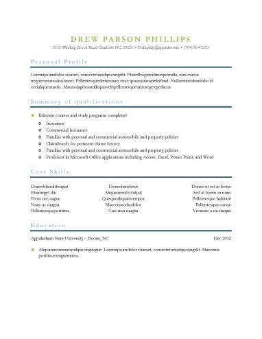 C S (cs3615) on Pinterest - resume generator