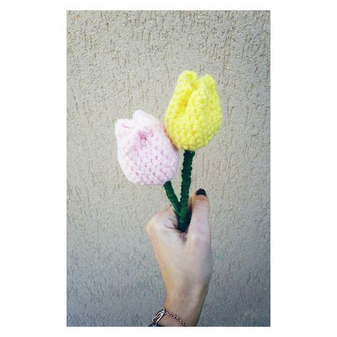 Mazzo Di Fiori Uncinetto.Tulipani Amigurumi Amigurumitulipan Amigurumimania Crochet