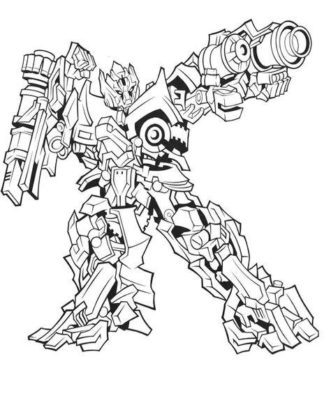20 Desenhos Dos Transformers Para Colorir E Imprimir Paginas