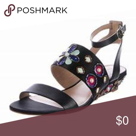 8d4ab69b5bfe6 NIB Tory Burch Estella Leather Wedge Sandal 8 New In Box Tory Burch Estella  Wedge Sandal Size 8 - Open toe - Toe strap vamp - Adjustable ankle strap  with ...