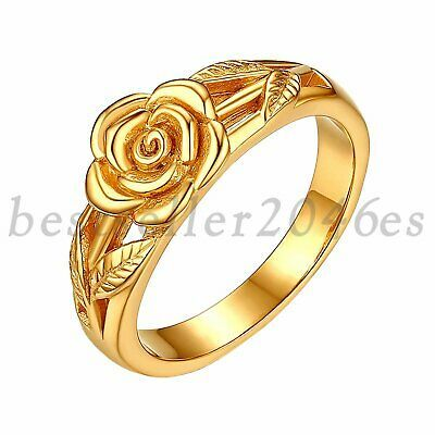 14K Yellow Gold Open Ring Friendship Ring Handmade Gold Ring Stackable Gold Ring Adjustable Gold Ring Leaf Gold Ring