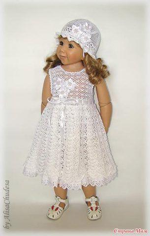 7cf987ca74 Favoloso abito bianco da bambina | Elbise modelleri | Vestiti per ...