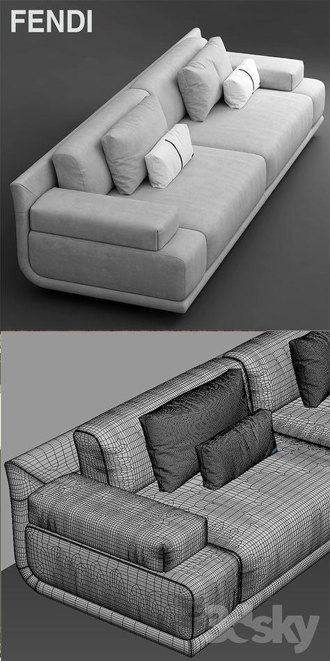 models: Sofa - Sofa fendi casa artu sofa (With images) Sofa Come Bed, Futon Sofa Bed, Sofa Sofa, Recliner Chairs, Sofa Sleeper, Tufted Sofa, Room Chairs, White Leather Sofa Bed, Leather Corner Sofa