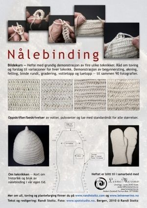jpg only: lots of pictures of sheep and wool at site, but no pics of nalebinding! Viking Garb, Viking Knit, Knitting Patterns, Crochet Patterns, Medieval Crafts, Wooly Bully, Viking Clothing, Tablet Weaving, Yarn Crafts