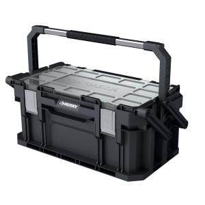 Husky 22 In Connect Cantilever Portable Tool Box 230378 Cantilever Tool Box Portable Tool Box Tool Storage