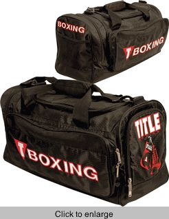 b3d5b07afb80 TITLE Boxing Super Sport Equipment Bag - click to enlarge