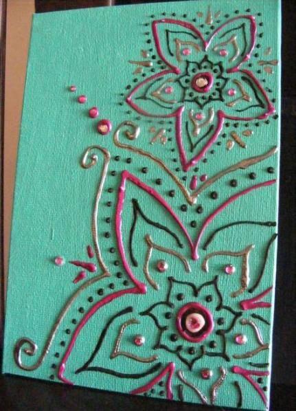 56 Ideas Diy Canvas Art For Kids Puffy Paint Puffy Paint Crafts Diy Canvas Art Puffy Paint Designs