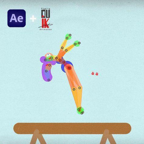 🤯 Animación hecha con After Effects y Duik. ¡HAZ CLICK para VER el TUTORIAL! YouTube: CHACHO MOTION
