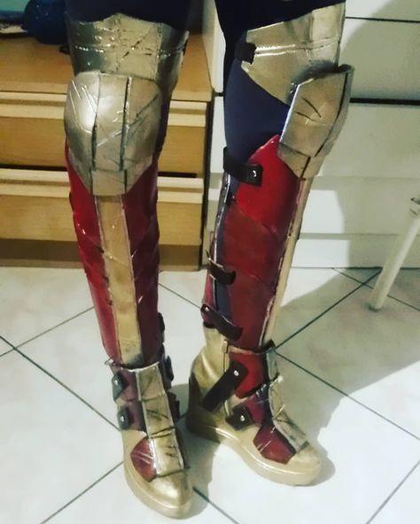 nuova versione risparmi fantastici selezione premium Prova assemblaggio stivali Sembro Iron Man #cosplay #justicelegue ...