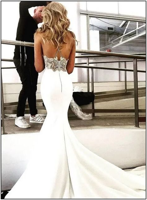 154 trumpet wedding dresses that are fancy & romantic page 10   homedable.com