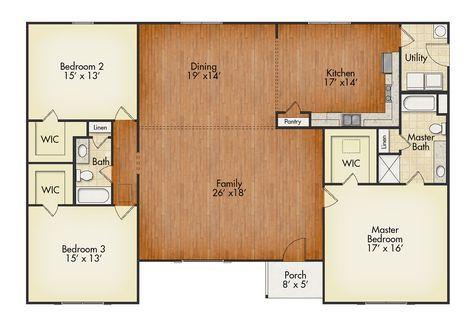 Carlton House Plan United Built Homes Custom Home Builders New House Plans Family House Plans House Plan Gallery