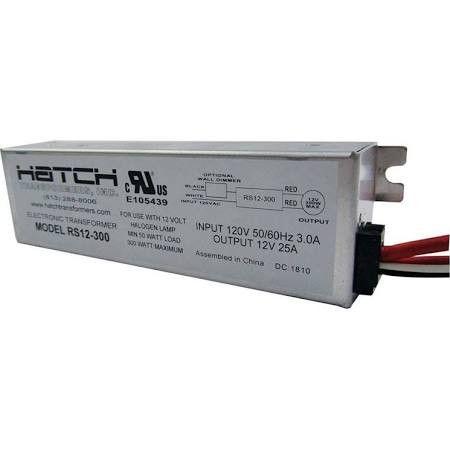 Hatch Rs12 300 300w 120v Halogen Electronic Transformer Transformers Halogen Lamp Electronics