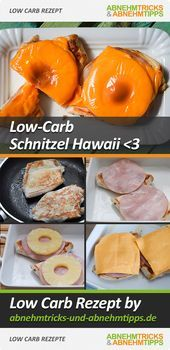 Juicy schnitzel Hawaii - made fast and low carb-Saftiges Schnitzel Hawaii – schnell gemacht und Low Carb decreasing tricks and -… carb -