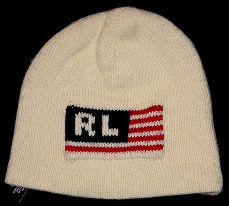 SWEET VINTAGE RALPH LAUREN POLO JEANS U.S.A. FLAG BEANIE OSFM-OLYMPICS   fashion  clothing  shoes  accessories  unisexclothingshoesaccs   unisexaccessories ... 319ca4a3b8b4