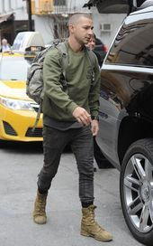 "Shia LaBeouf ""Live"" by Rob Cantor Lainey Gossip Entertainment Update - Street Style Outfits"