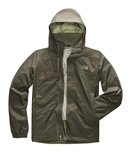 The North Face Men S Resolve Jacket New Taupe Green Medium North Face Mens Mens Jackets North Face Jacket
